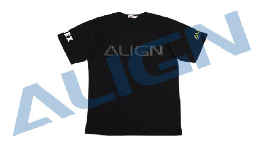 Align T-REX Flying T-Shirt (HELI PILOT) - Black 3L HOC00219-7
