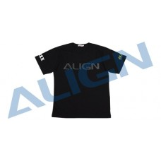 Align T-REX Flying T-Shirt (HELI PILOT) - Black 2L