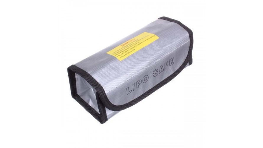 Fireproof Explosion Proof LiPo Battery Safe Bag 185x75x60mm DSELL-12653
