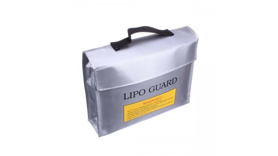 Fireproof Explosion Proof LiPo Safe Bag 240x65x180mm DSELL-126854