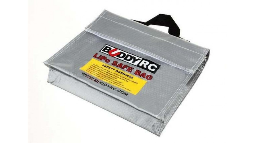 Fireproof Explosion Proof LiPo Safe Carrying Bag 241x178x64mm EPB-LIPO-CUBE