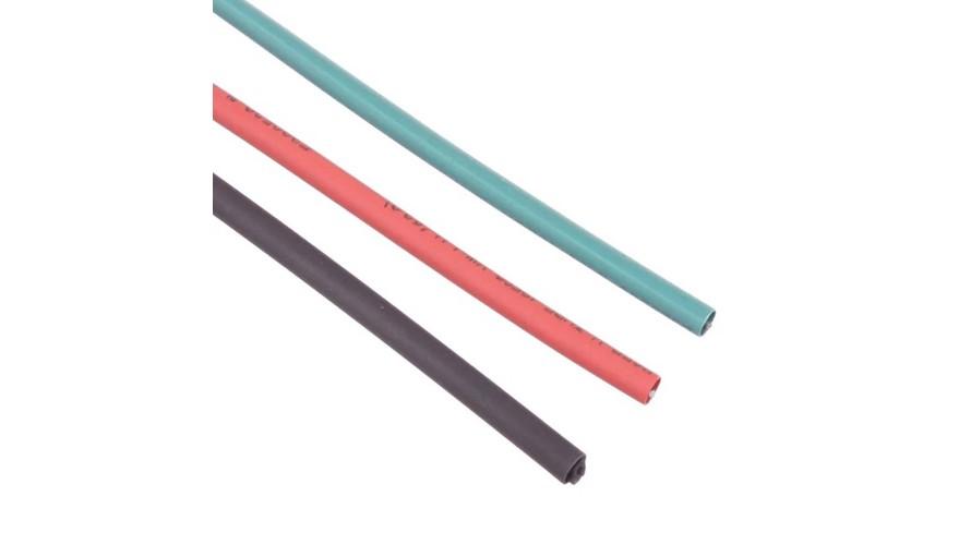 Heat Shrink Tubing 2mm Red - Black - Green ATS-9302