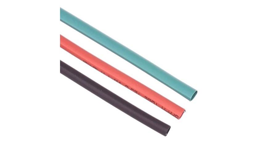 Heat Shrink Tubing 4mm Red - Black - Green ATS-9304