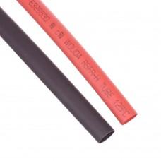 Heat Shrink Tubing 6mm Red - Black