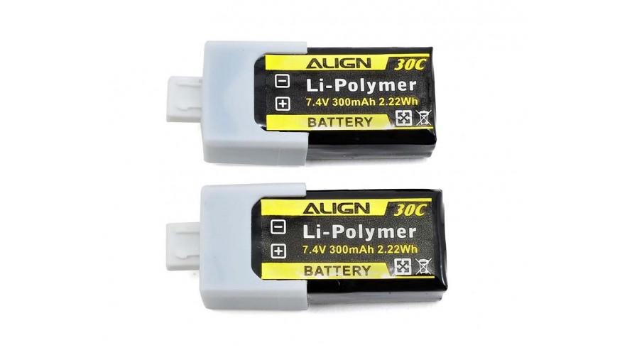 150X 300mAh 30C 2S 7.4v Battery