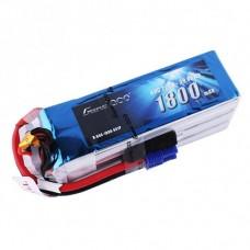 Gens ace 1800mAh 22.2V 60C 6S1P Lipo Battery - EC3 Plug