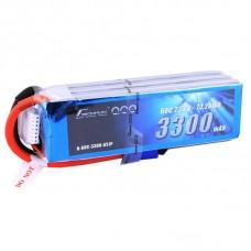 Gens ace 3300mAh 22.2V 60C 6S1P Lipo Battery - EC5 Plug