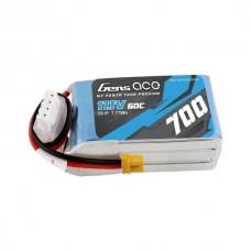 Gens ace 700mAh 11.1V 60C 3S1P Lipo Battery XT30 Plug