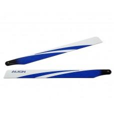 Align T-REX 360 Carbon Fiber Blades - Blue Blemish