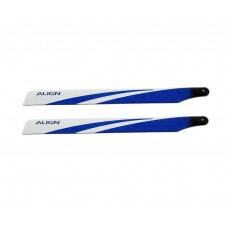 Align T-REX 325 Carbon Fiber Blades - Blue