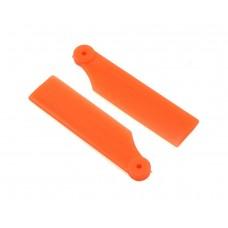 Lynx Heli Innovations 41mm Tail Blade Set - Orange