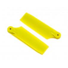 Lynx Heli Innovations 47mm Tail Blade Set - Yellow