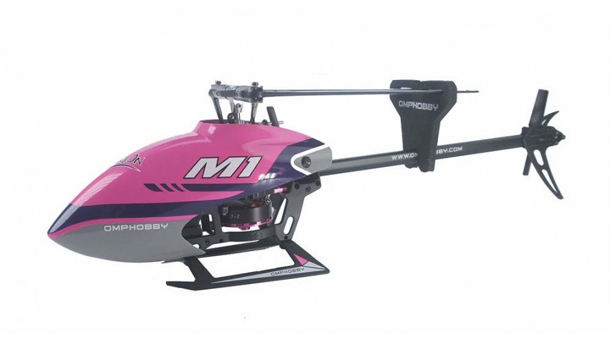 OMPHOBBY M1 RC Helicopter OMP Protocol Purple OMP-M1-PURPLE