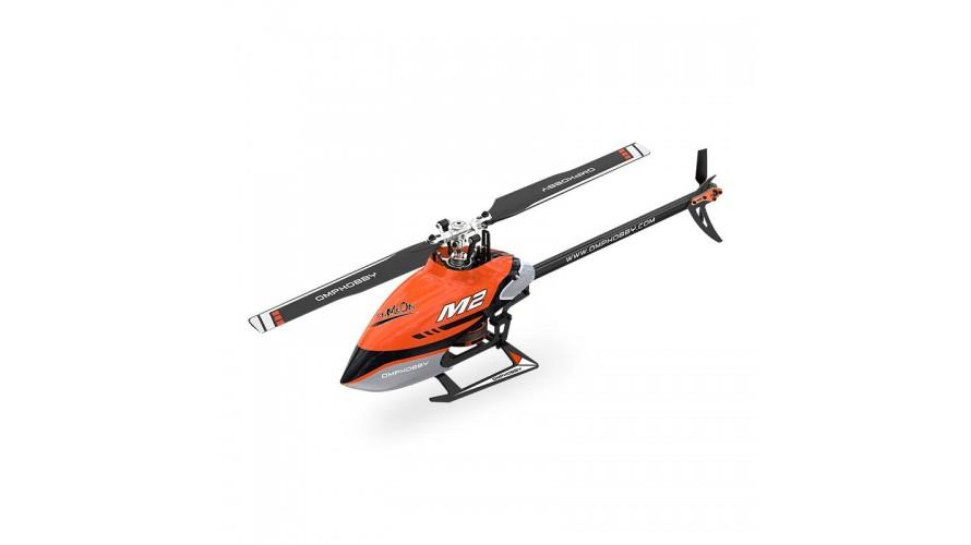 OMPHobby M2 V2 RC Helicopter - Orange
