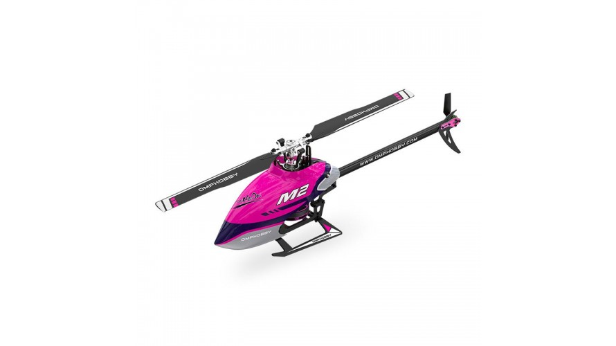 OMPHobby M2 V2 RC Helicopter - Purple