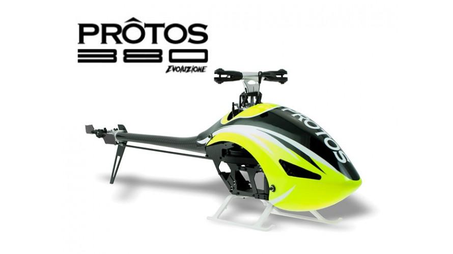 Protos 380 EVO Kit No Main Blades MSH41512 MSH41512