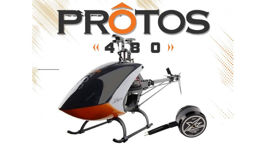 Protos 480 Kit with Motor 4015/880KV XL48K02
