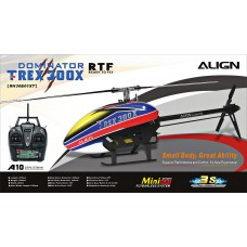 Align T-REX 300X Super Combo with A10 Ready to Fly RTF