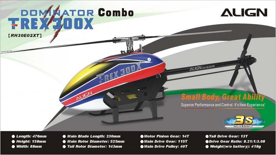 Align T-REX 300X Combo