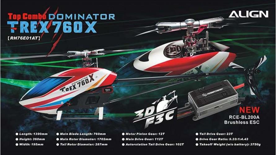 T-REX 760X Top Combo