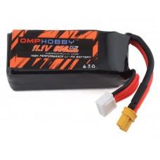 OMPHOBBY M2 11.1v 650mAh Lipo Battery