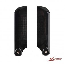 XL Carbon Fiber Tail Blades 105mm