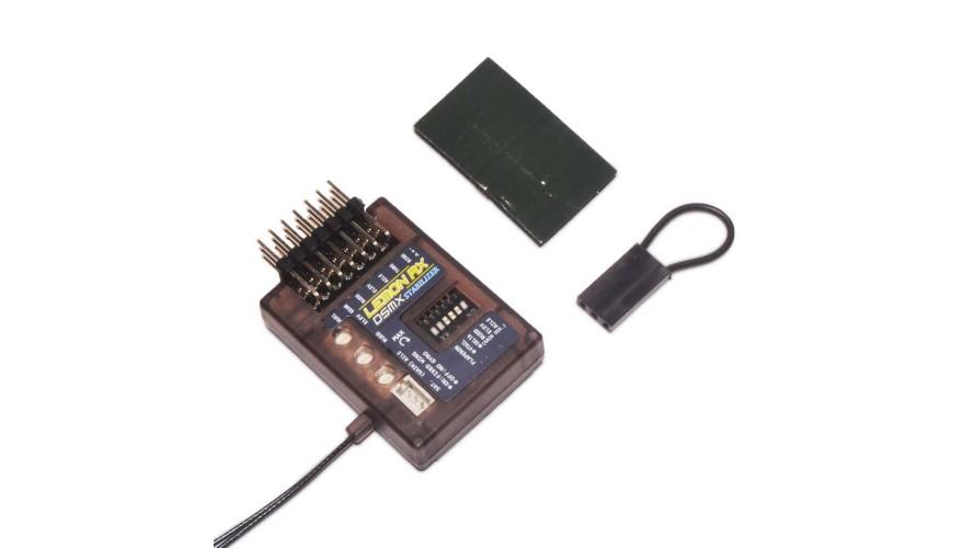 Lemon Rx Stabilizer 7 Channel DSMP Diversity Antenna DSMX Compatible End Pin LM0033