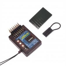 Lemon RX 7 Channel Stabilizer PLUS DSMP Receiver with Gyro DSMX Compatible