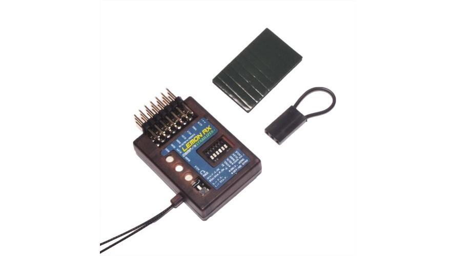 Lemon RX 7 Channel Stabilizer PLUS DSMP Receiver with Gyro DSMX Compatible LM0044