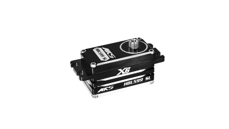 MKS X6 HBL599SL Brushless Low Profile Digital Servo (High Voltage) MKS-HBL599SL