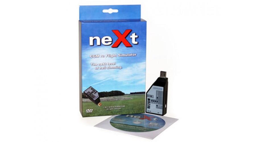 neXt RC Flight Simulator with RX2SIM USB Interface NEXT161003